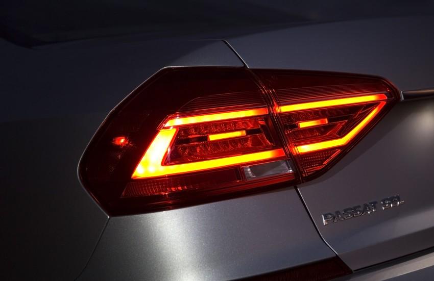 2016 Volkswagen Passat – US model receives facelift Image #382368