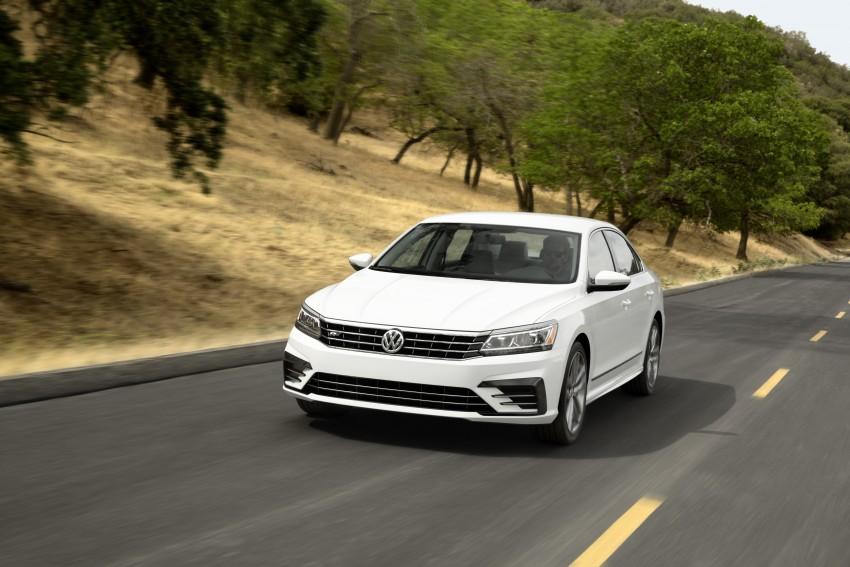 2016 Volkswagen Passat – US model receives facelift Image #382369
