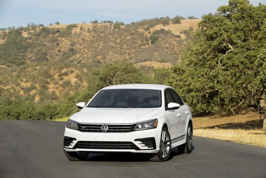 2016 Volkswagen Passat – US model receives facelift Image #382370