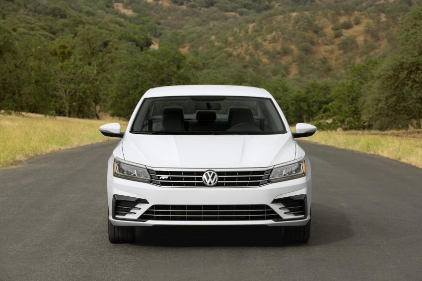 2016 Volkswagen Passat – US model receives facelift Image #382373