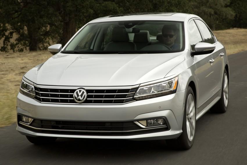 2016 Volkswagen Passat – US model receives facelift Image #382375