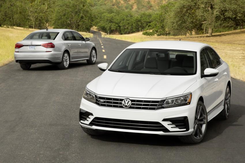 2016 Volkswagen Passat – US model receives facelift Image #382377