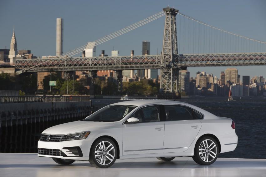 2016 Volkswagen Passat – US model receives facelift Image #382378