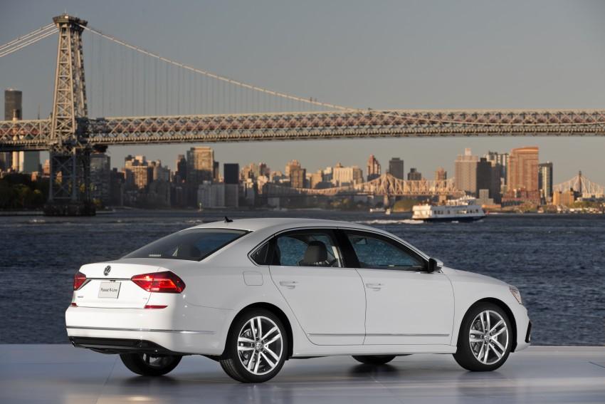 2016 Volkswagen Passat – US model receives facelift Image #382380