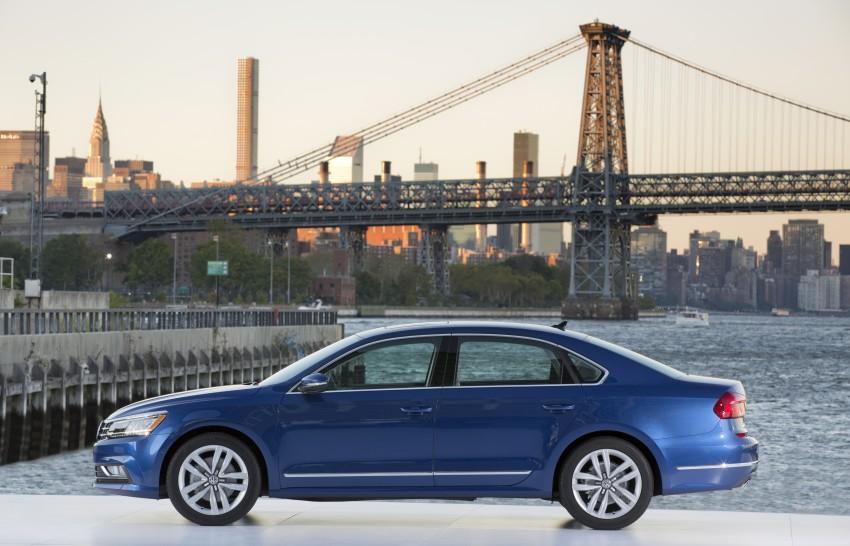 2016 Volkswagen Passat – US model receives facelift Image #382382