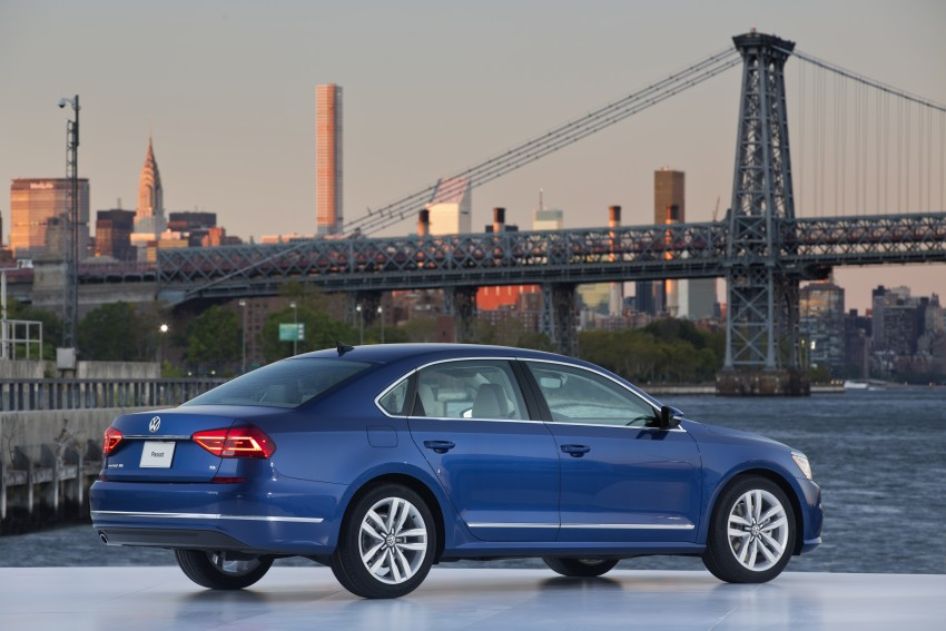 2016 Volkswagen Passat – US model receives facelift Image #382383