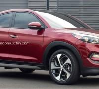 Hyundai Tucson coupe renders 2