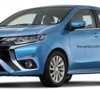 Mitsubishi Attrage renderings Theo 1