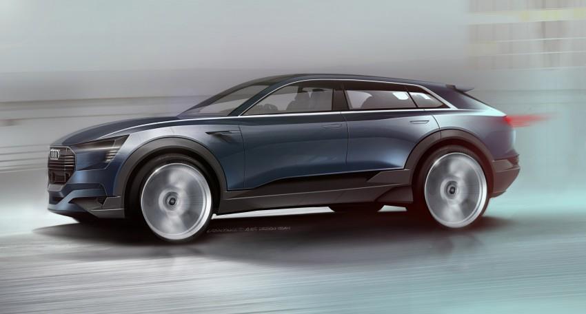 Frankfurt 2015: Audi e-tron quattro concept unveiled Image #379168