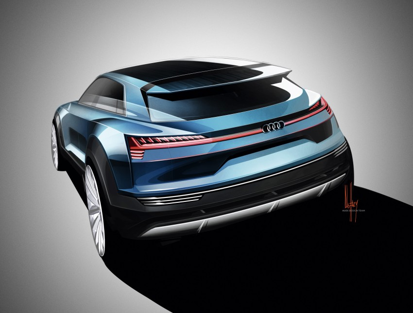 Frankfurt 2015: Audi e-tron quattro concept unveiled Image #379167