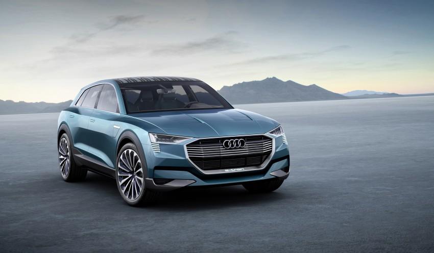Frankfurt 2015: Audi e-tron quattro concept unveiled Image #379194