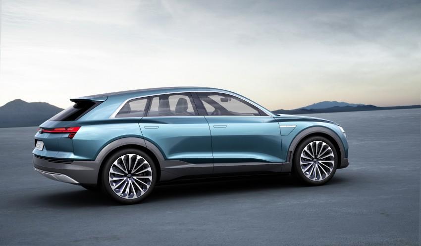 Frankfurt 2015: Audi e-tron quattro concept unveiled Image #379191