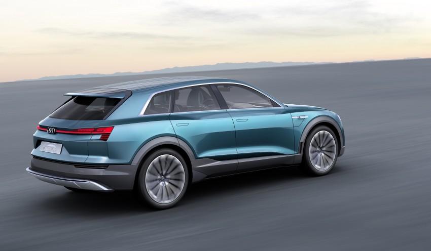 Frankfurt 2015: Audi e-tron quattro concept unveiled Image #379193