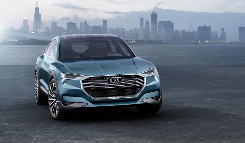 Frankfurt 2015: Audi e-tron quattro concept unveiled Image #379197