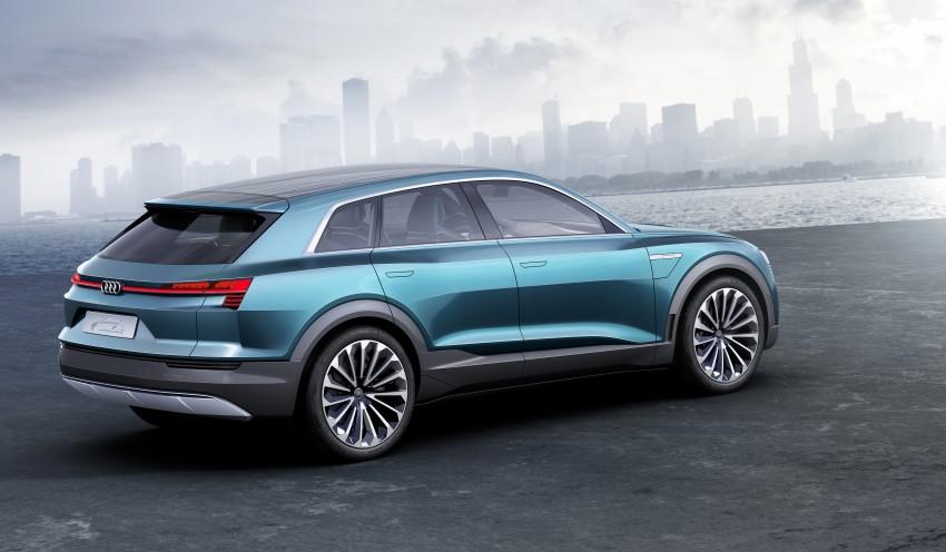 Frankfurt 2015: Audi e-tron quattro concept unveiled Image #379196
