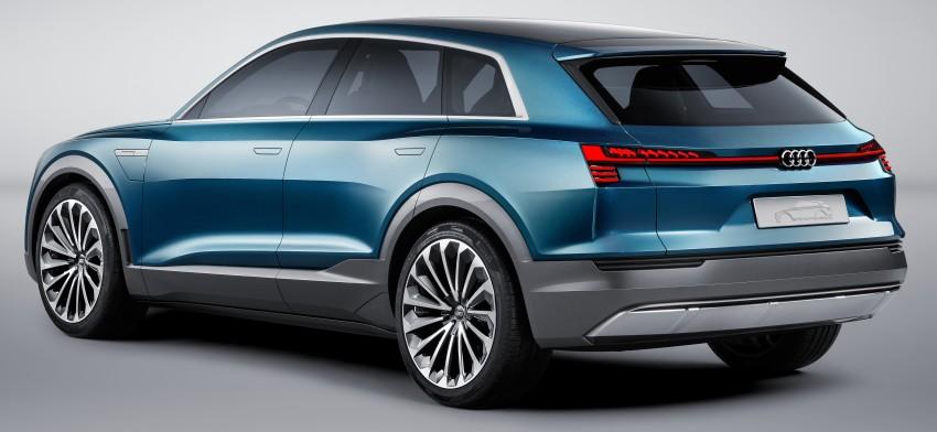 Frankfurt 2015: Audi e-tron quattro concept unveiled Image #379189