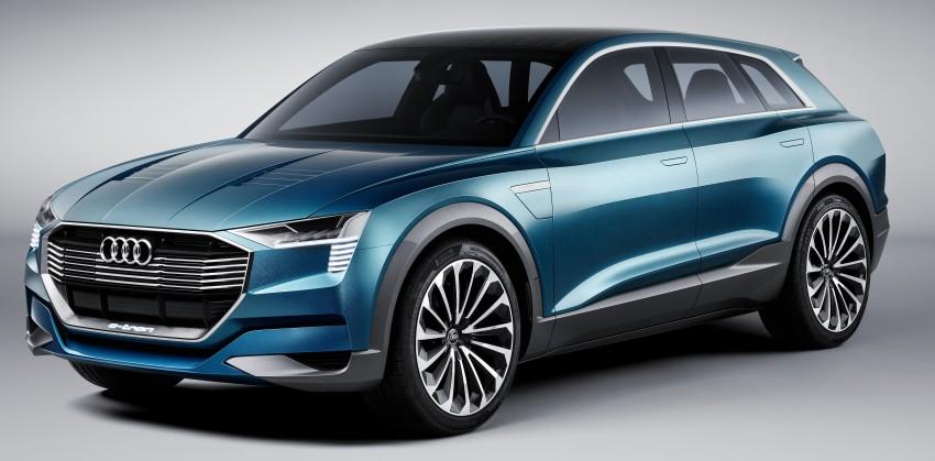 Frankfurt 2015: Audi e-tron quattro concept unveiled Image #379190