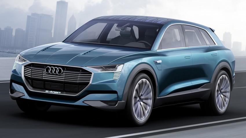 Frankfurt 2015: Audi e-tron quattro concept unveiled Image #379184