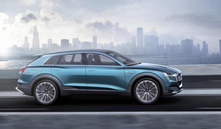 Frankfurt 2015: Audi e-tron quattro concept unveiled Image #379183