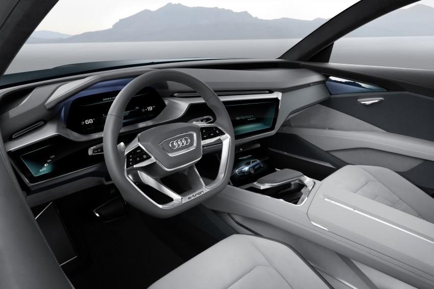 Frankfurt 2015: Audi e-tron quattro concept unveiled Image #379177