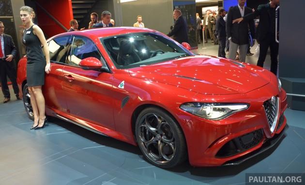 Alfa Giulia Frankfurt ex 1