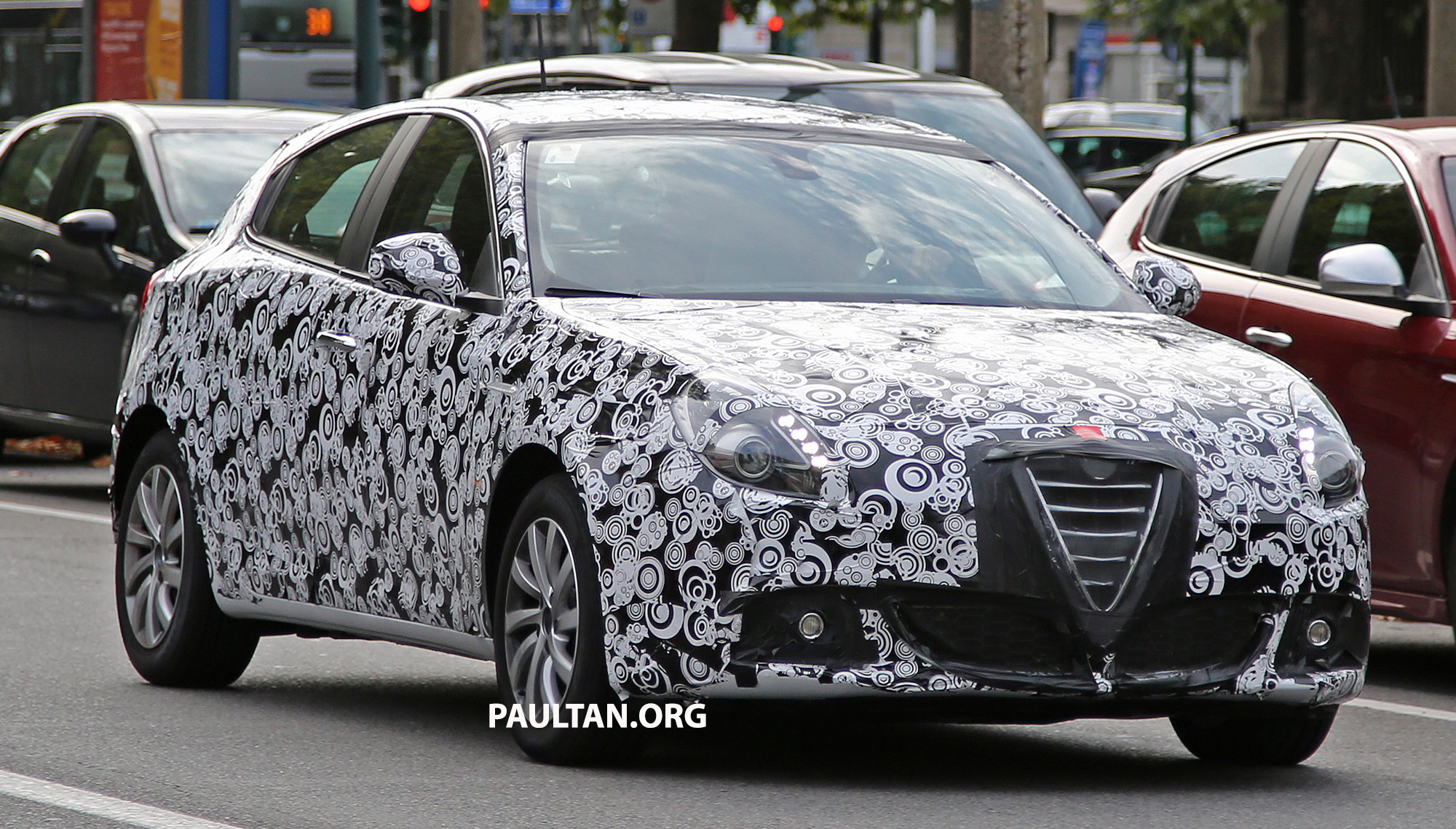 SPIED: Alfa Romeo Giulietta facelift spotted in Italy Paul Tan ... on alfa romeo 8c, alfa romeo 147, alfa romeo cars, alfa romeo models, alfa romeo giulia, alfa romeo 1750, alfa romeo gtv, alfa romeo brera, alfa romeo sedan, alfa romeo trucks, alfa romeo graduate, alfa romeo gtv6, alfa romeo spider veloce, alfa romeo zagato, alfa romeo alfetta, alfa romeo c spiders, alfa romeo 164, alfa romeo gta, alfa romeo 75, alfa romeo gt,