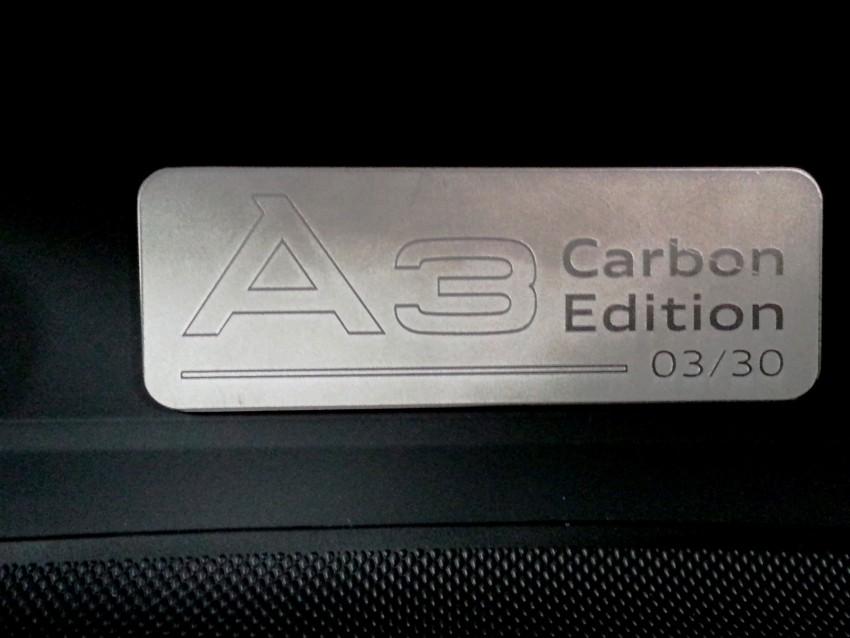 Audi A3 Carbon Edition – only 30 units, RM194k each Image #375613