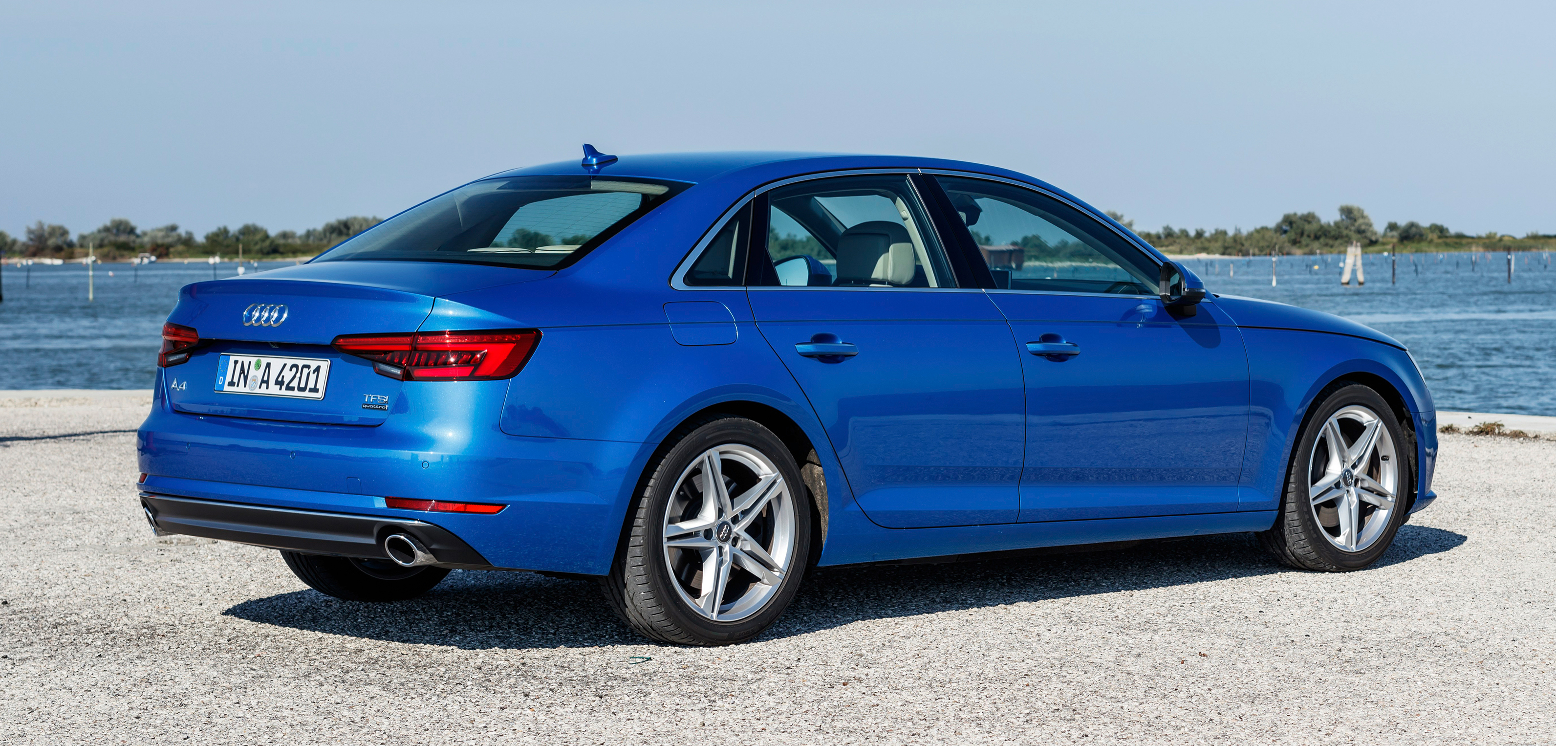 GALLERY: Audi A4 B9 on location in Venice, Italy Image 384226