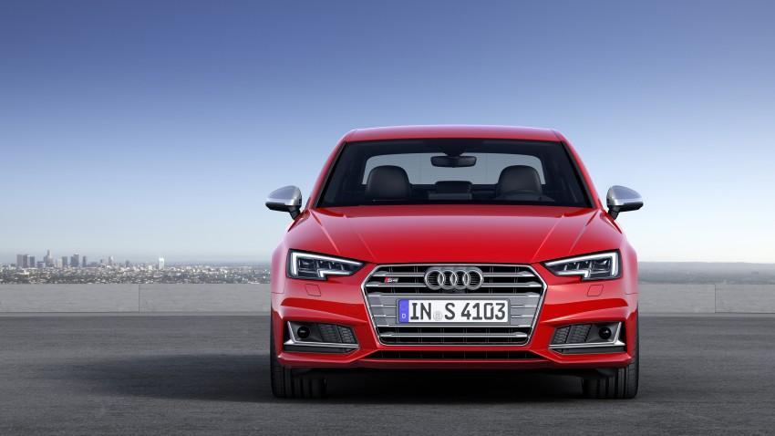 Frankfurt 2015: B9 Audi S4 revealed packing 354 PS Image #379704