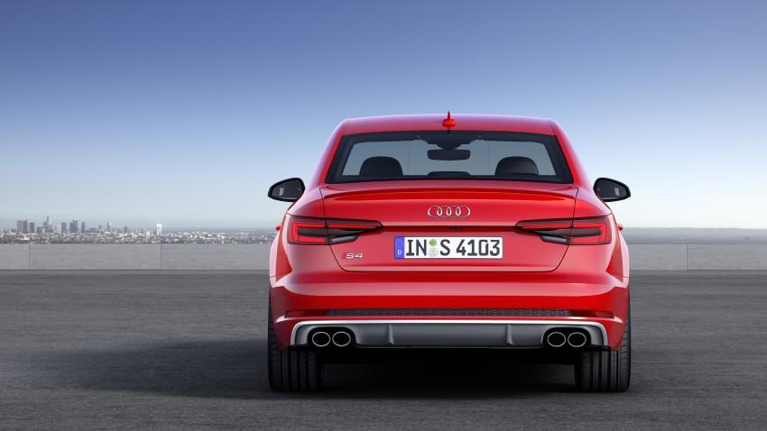 Frankfurt 2015: B9 Audi S4 revealed packing 354 PS Image #379705
