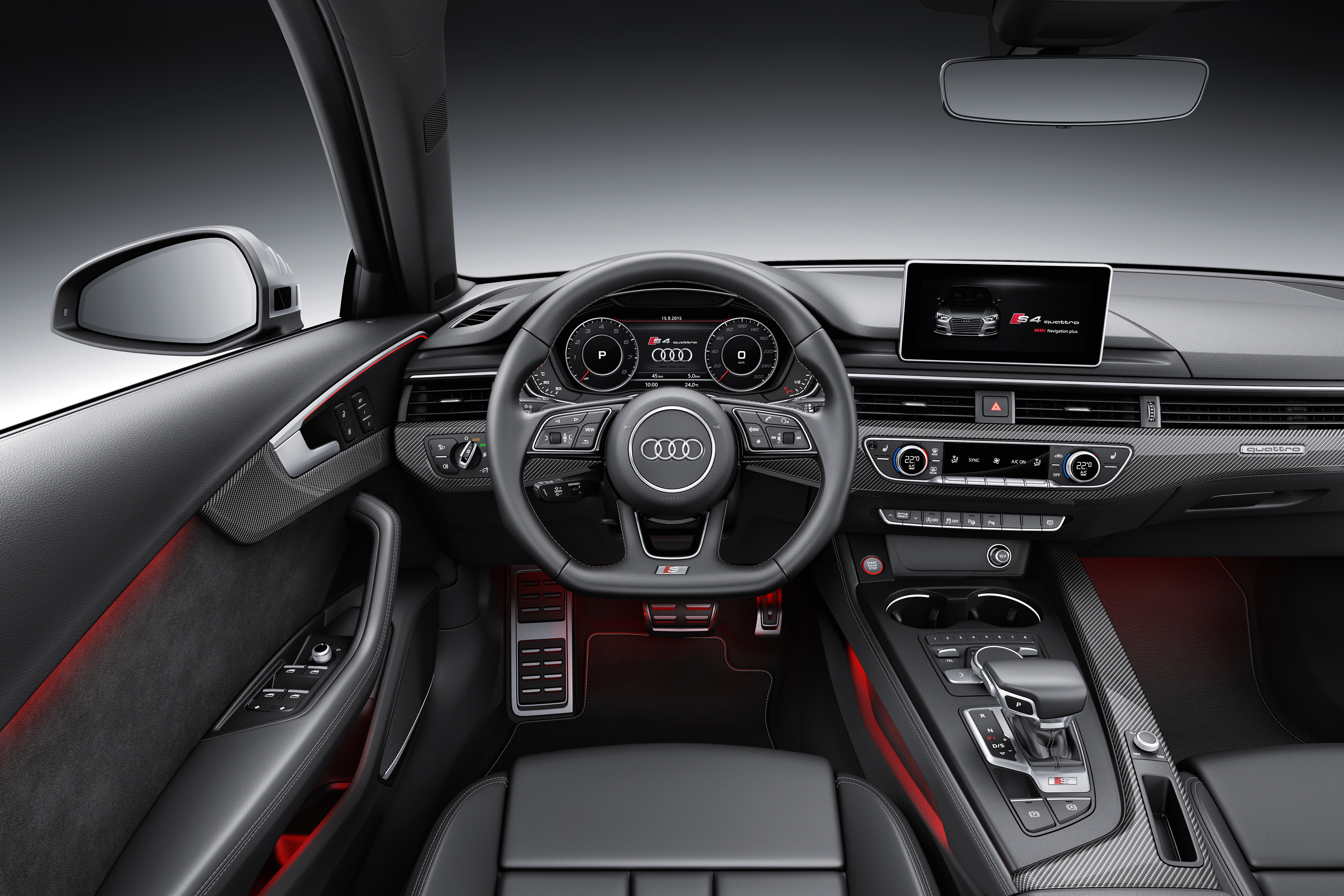 Frankfurt 2015 B9 Audi S4 Revealed Packing 354 Ps Paul