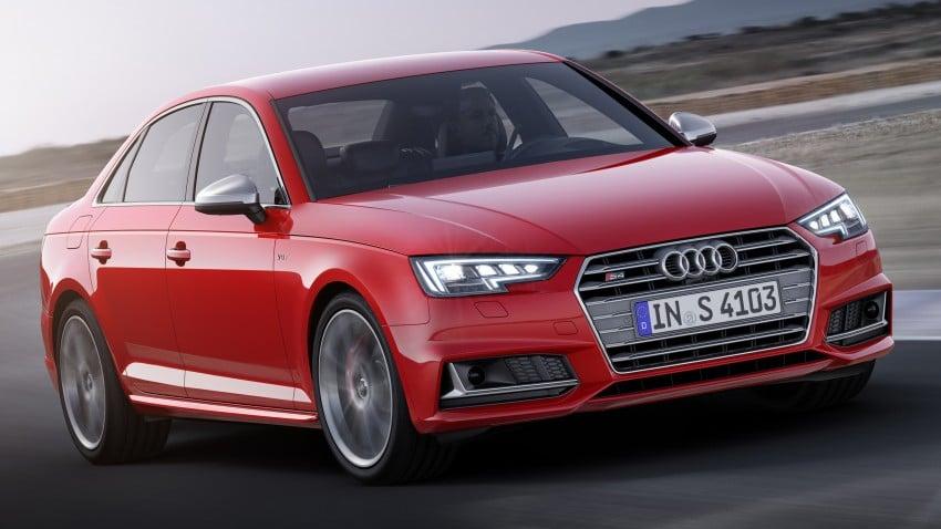 Frankfurt 2015: B9 Audi S4 revealed packing 354 PS Image #379694