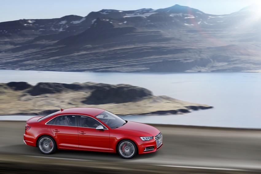 Frankfurt 2015: B9 Audi S4 revealed packing 354 PS Image #379695