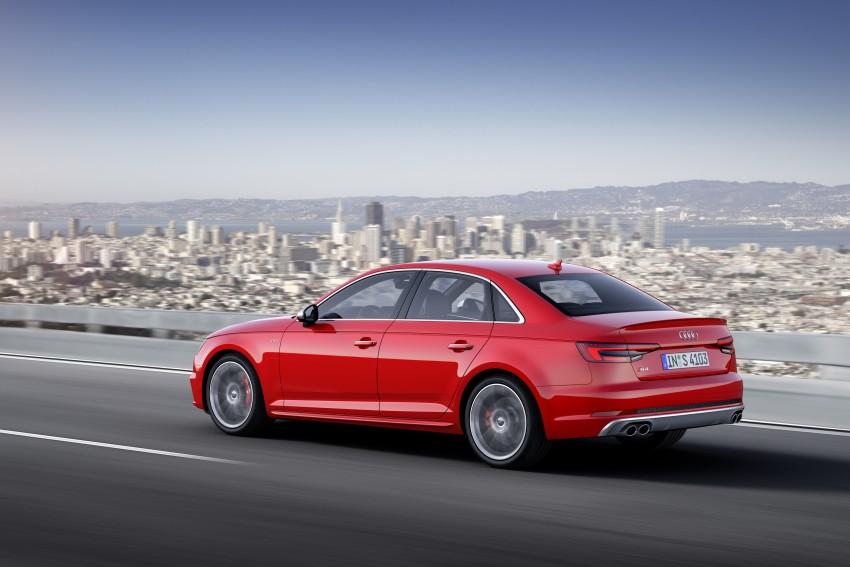 Frankfurt 2015: B9 Audi S4 revealed packing 354 PS Image #379696