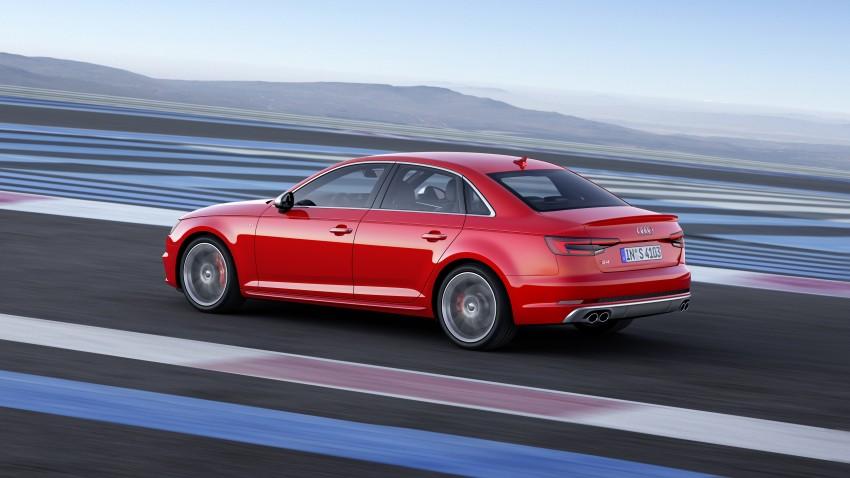 Frankfurt 2015: B9 Audi S4 revealed packing 354 PS Image #379697