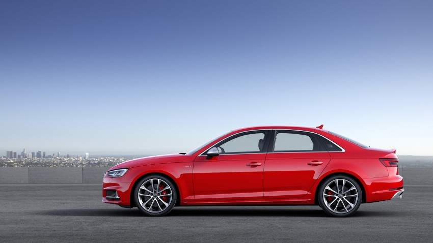 Frankfurt 2015: B9 Audi S4 revealed packing 354 PS Image #379698