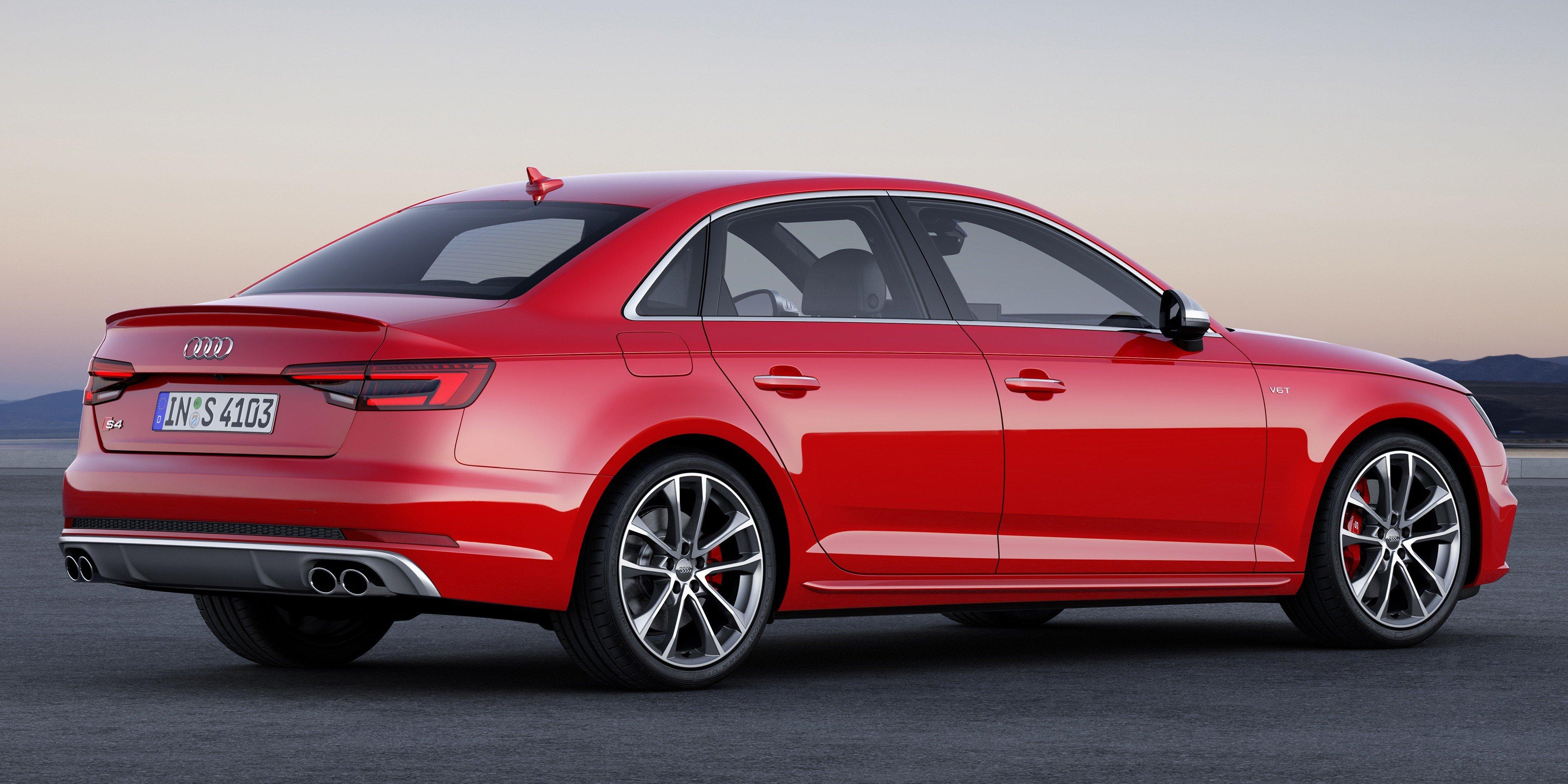 Frankfurt 2015 B9 Audi S4 Revealed Packing 354 Ps Image