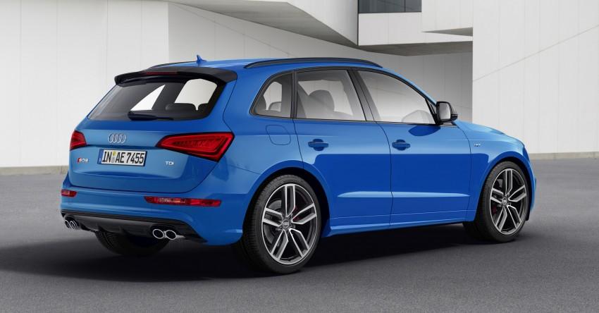 Audi SQ5 TDI plus – a 27 hp, 50 Nm shot in the arm Image #376028
