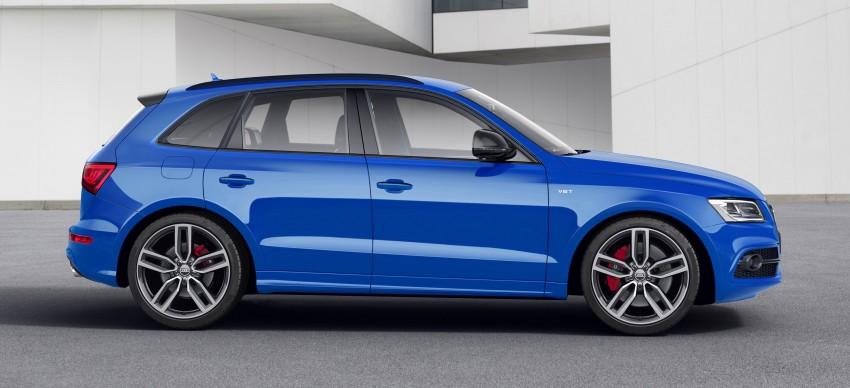 Audi SQ5 TDI plus – a 27 hp, 50 Nm shot in the arm Image #376029