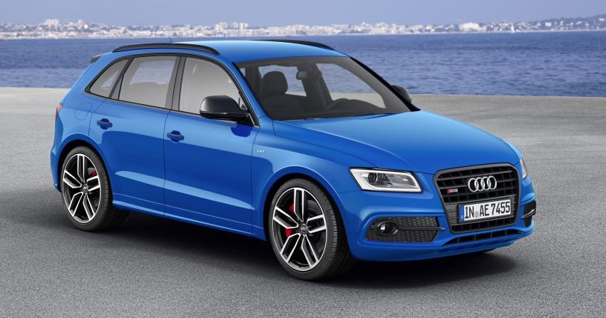 Audi SQ5 TDI plus – a 27 hp, 50 Nm shot in the arm Image #376032