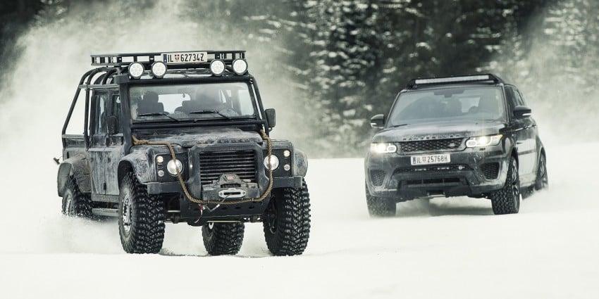 Jaguar Land Rover showcases its trio of Bond cars Image #380824