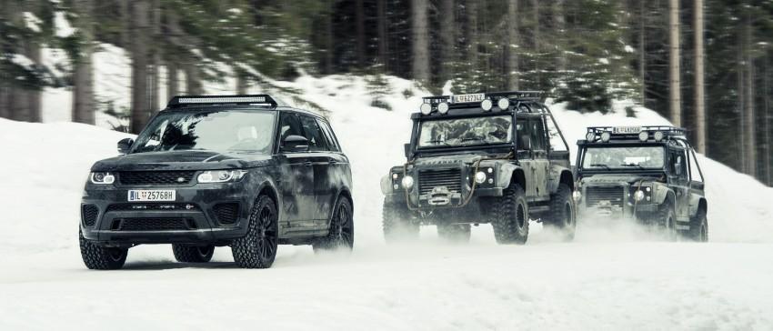 Jaguar Land Rover showcases its trio of Bond cars Image #380829
