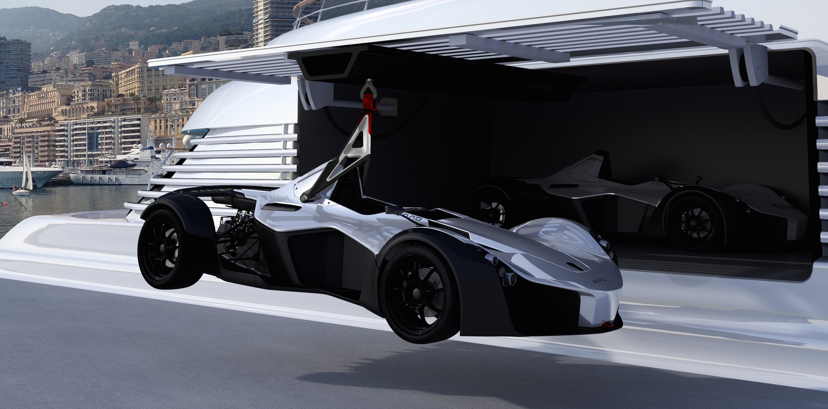 bac mono marine edition built for the high seas. Black Bedroom Furniture Sets. Home Design Ideas