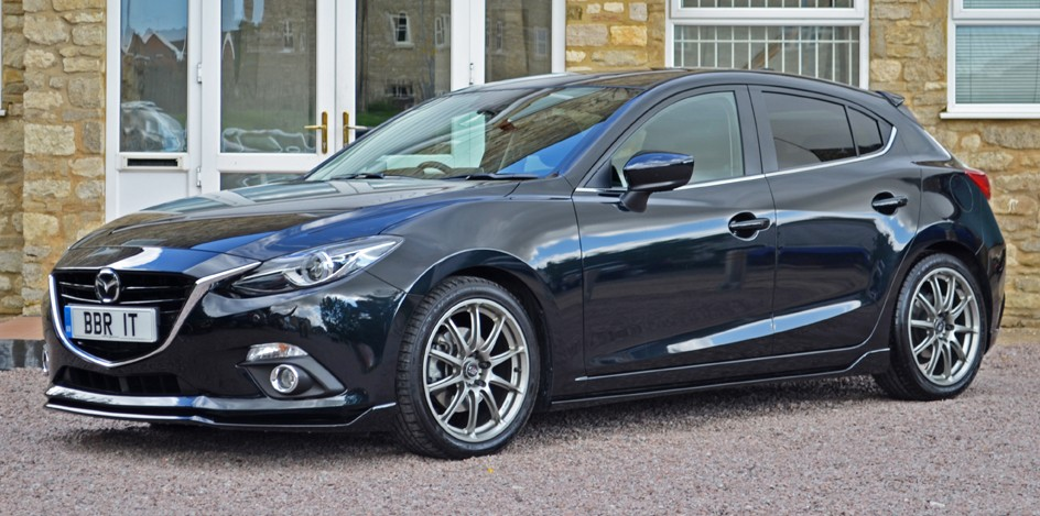 Mazda 3 Axela 2017 >> Mazda 3 modified by BBR - two stages, up to 185 hp