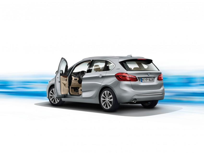 F45 BMW 225xe Active Tourer Plug-in Hybrid debuts Image #374820