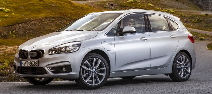 F45 BMW 225xe Active Tourer Plug-in Hybrid debuts Image #374838