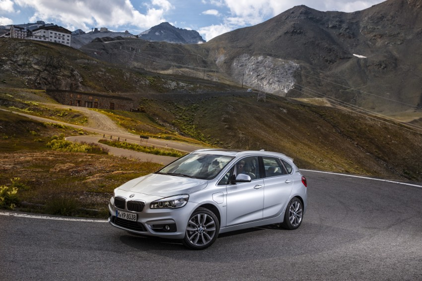 F45 BMW 225xe Active Tourer Plug-in Hybrid debuts Image #374839