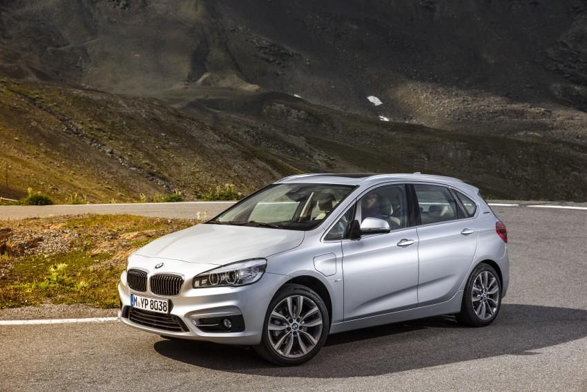 F45 BMW 225xe Active Tourer Plug-in Hybrid debuts Image #374840
