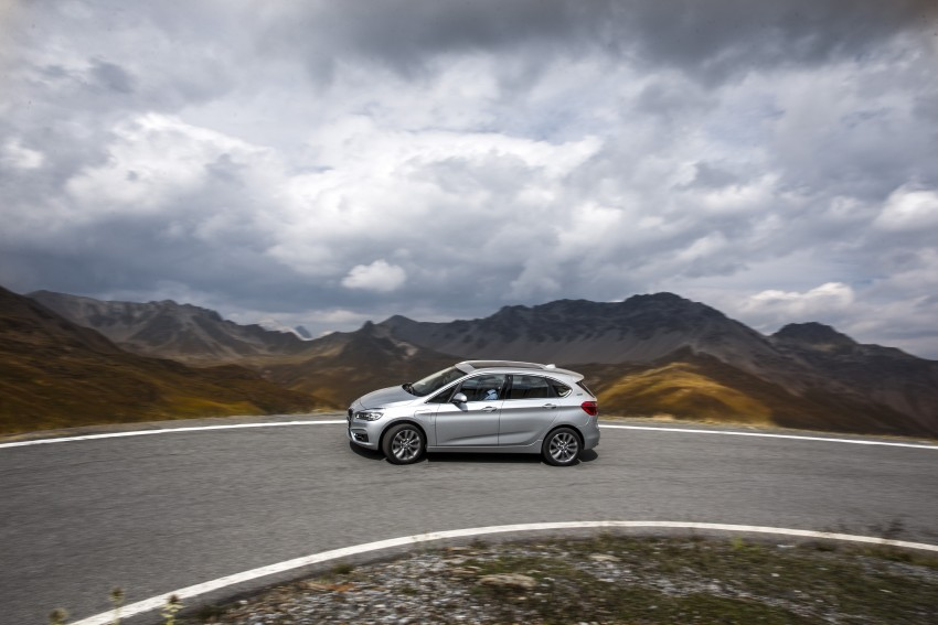 F45 BMW 225xe Active Tourer Plug-in Hybrid debuts Image #374841