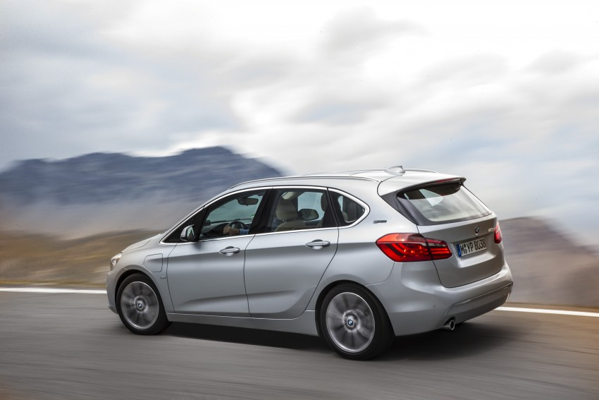 F45 BMW 225xe Active Tourer Plug-in Hybrid debuts Image #374842